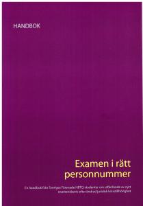 handbok framsida